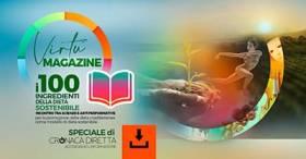 """L'evento digitale Virtù per un'alimentazione """"sostenibile""""   Scarica il Magazine Virtù - Speciale Cronaca Diretta e scopri interviste e partner del progetto"""